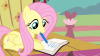 Fluttershy_writing_on_the_journal_S4E14 (1).png